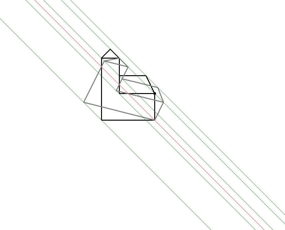 Ungewöhnlich Sich Schneidende Parallele Und Senkrechte Linien ...